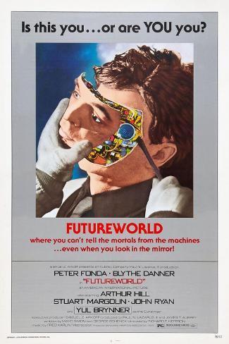 Futureworld, 1976 Giclee-trykk