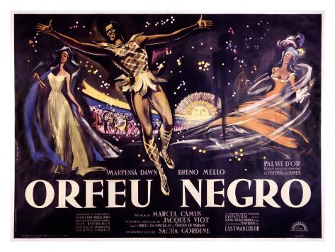 Orfeu Negro Giclee-trykk