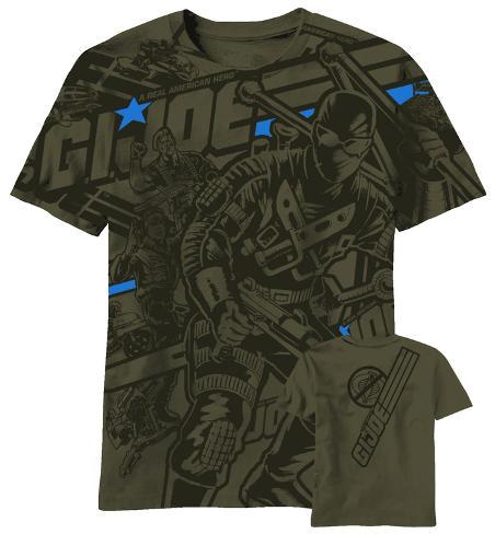 GI Joe - Joe Heroes AOP T-skjorte