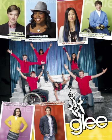 Glee - Comp Miniplakat