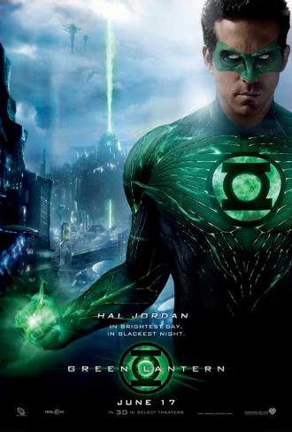 Grønne lygte Masterprint