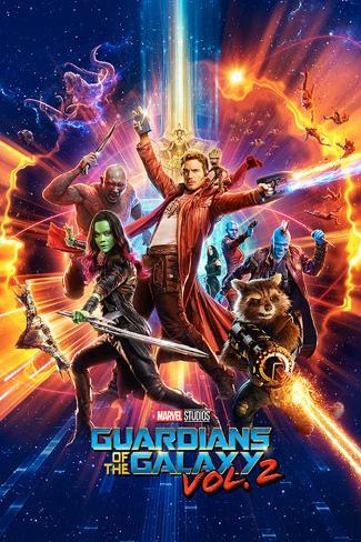 Guardians Of The Galaxy Vol. 2 - One Sheet Plakat