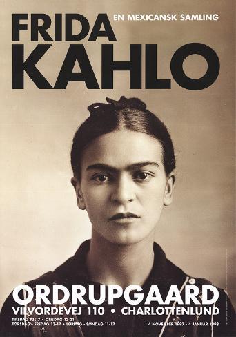 Frida Kahlo (1932) Samlertryk