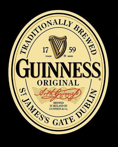 Guinness Original Label Poster Plakat