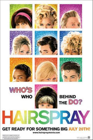 Hairspray Dobbeltsidet plakat