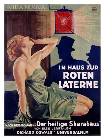 Im Haus Zur Roten Laterne Giclee-trykk