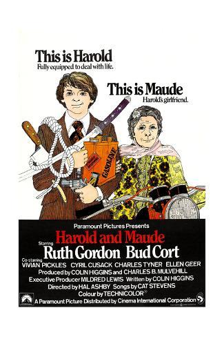 Harold and Maude, 1971 Giclée-tryk