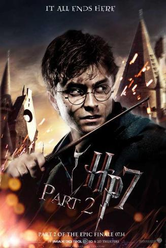 Harry Potter and the Deathly Hallows: Part II - Harry Masterprint