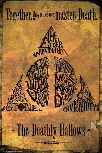 Harry Potter- Deathly Hallowes Together Plakat
