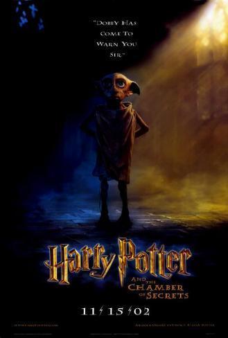Harry Potter og Hemmelighedernes Kammer Masterprint