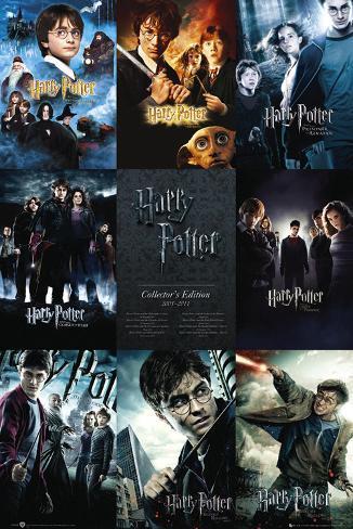 Harry Potter-samlingen Plakat