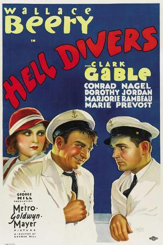 Hell Divers, 1931 Giclee-trykk