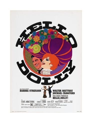 Hello, Dolly!, 1969 Giclée-tryk