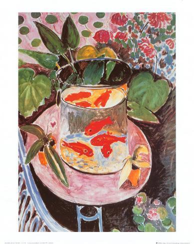 Guldfisk Kunsttryk