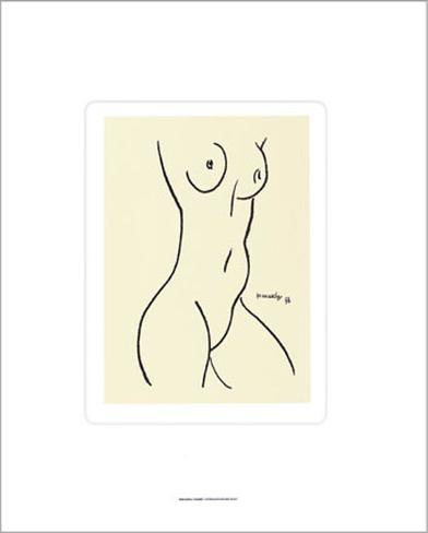 Nu, c.1952 Serigrafi (silketryk)