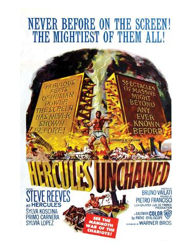 Hercules Unchained - 1959 Giclee-trykk