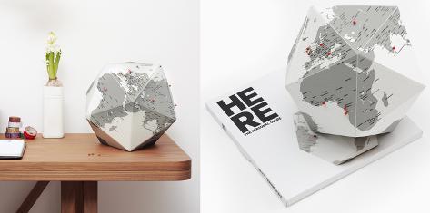 Here - The Personal Globe - Medium Sjove ting