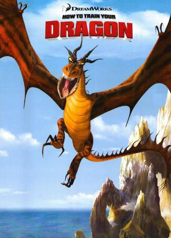 How to Train Your Dragon Mestertrykk