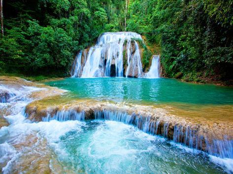 Waterfall II Fotografisk trykk