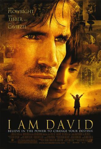 I am David Dobbeltsidig plakat