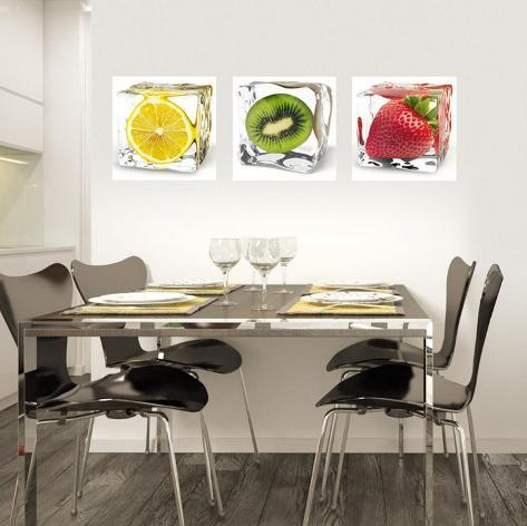 Iced Fruits Wallstickers