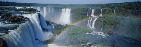 Iguacu-vandfaldene, Parana, Brasilien Wallstickers