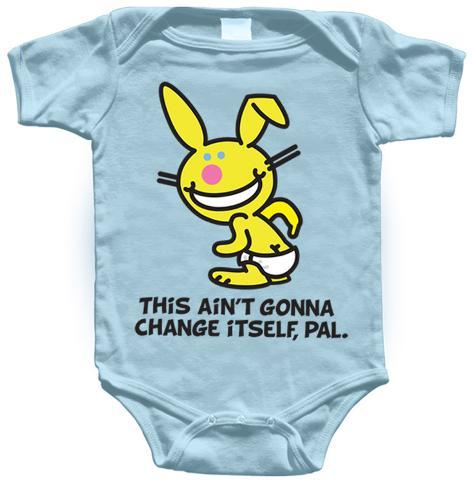 Infant: Happy Bunny - This Ain't Gonna Change Itself T-Shirt