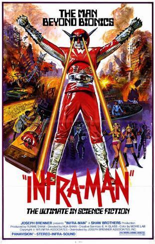 Infra-Man Masterprint