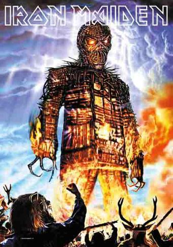 Iron Maiden - Wicked Man Stofplakat