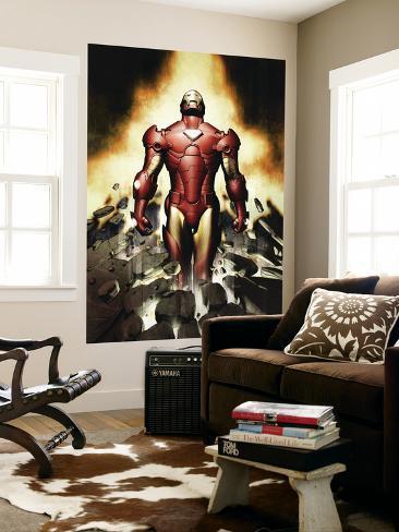 Iron Man No.82 Cover: Iron Man Anden