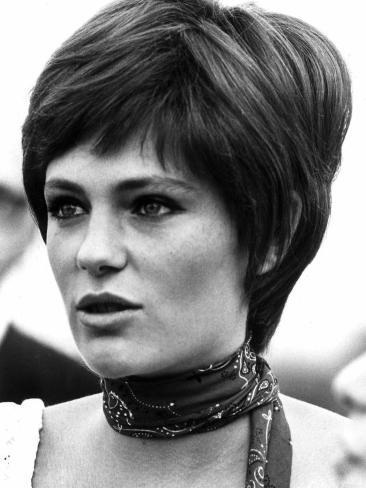 Jacqueline Bisset Actress Sept 1968 Fotografisk trykk