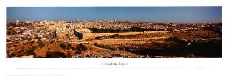 Jerusalem, Israel Kunsttryk