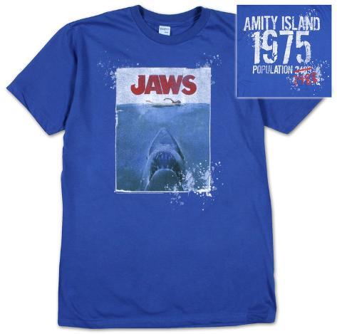 Jaws - Amity Island 1975 T-skjorte