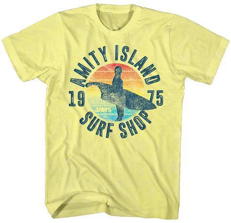 Jaws- Amity Island Surfshop T-skjorte