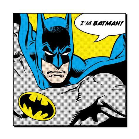 Jeg er Batman Kunsttrykk
