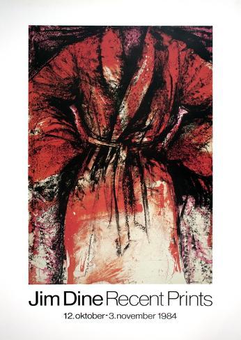 Recent Prints (Robe) Kunsttrykk