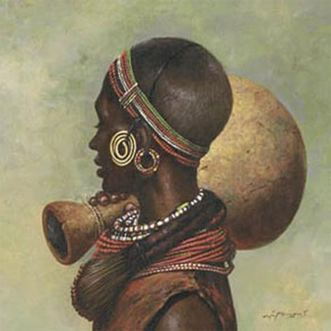 African I Kunsttrykk