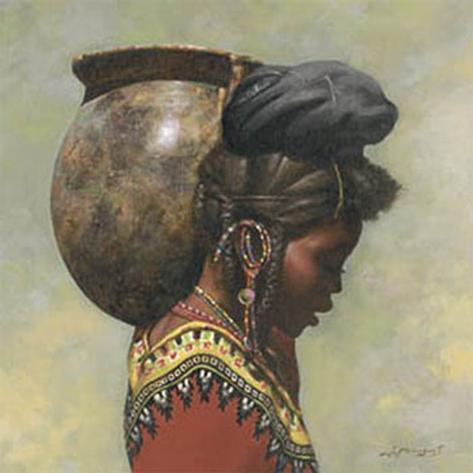 African II Kunsttrykk