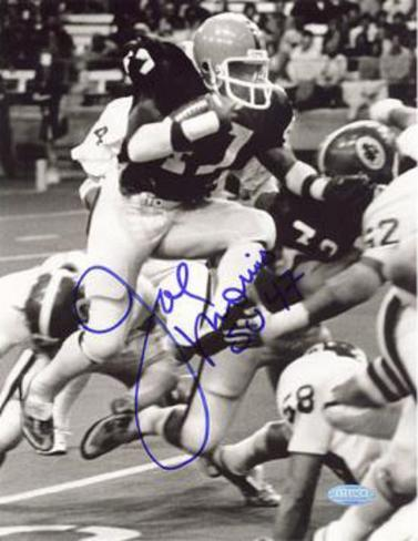Joe Morris Syracuse Autographed Photo (Hand Signed Collectable) Foto