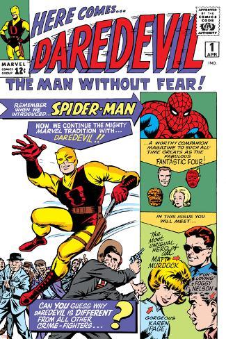 Daredevil No.1 Cover: Daredevil Plakat