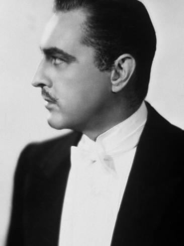 John Barrymore: Arsène Lupin, 1932 Fotografisk trykk