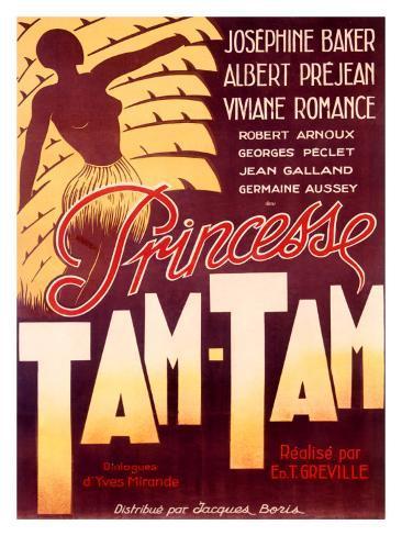 Josephine Baker, Tam Tam Giclée-tryk