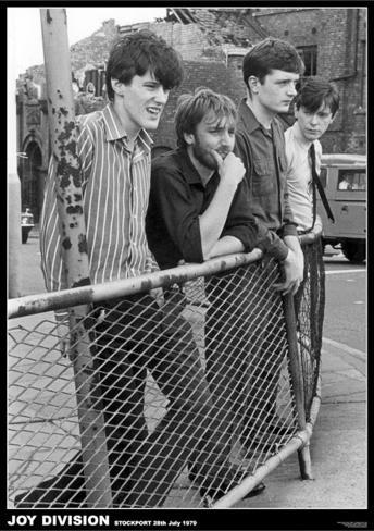 Joy Division-Stockport July 79 Plakat