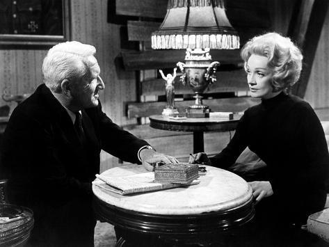 Judgment At Nuremberg, Spencer Tracy, Marlene Dietrich, 1961 Foto