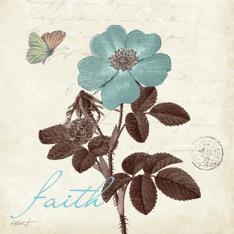 Touch of Blue II, Faith Kunsttrykk