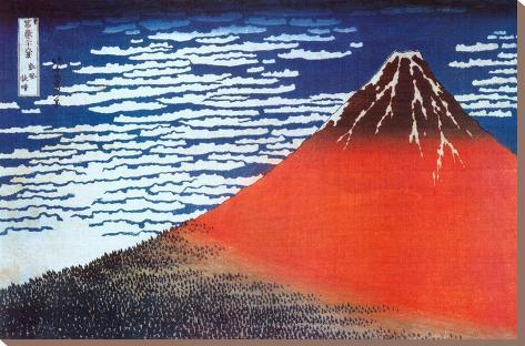 hokusai, fujisan, fuji, fuji-san