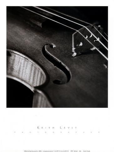 Violin Kunsttryk