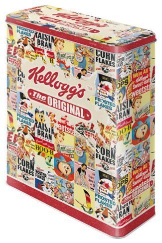 Kellogg's The Original Collage - Tin Box Rariteter
