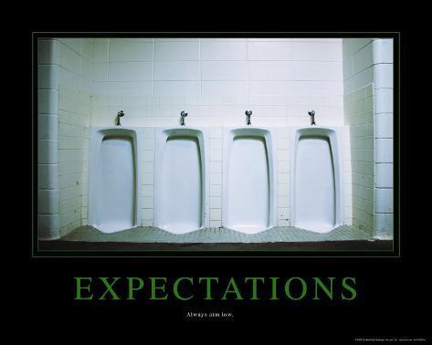 Expectations Miniplakat