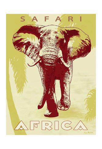 Safari Africa Kunsttryk